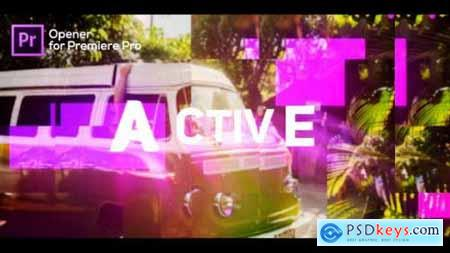 Videohive Active Opener for Premiere Pro 25202466