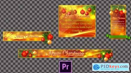 Videohive Christmas Lower Thirds Premiere Pro 25186213