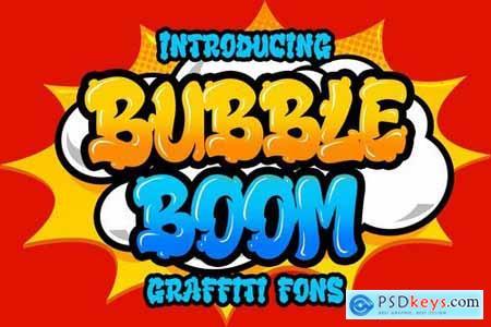 Bubble Boom - Graffiti Font