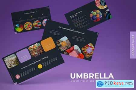 Umbrella - Powerpoint Google Slides and Keynote Templates