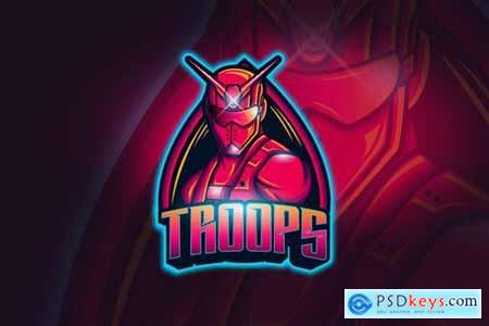 Troops - Mascot & Esport Logo