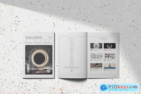 Magazine Template Vol8