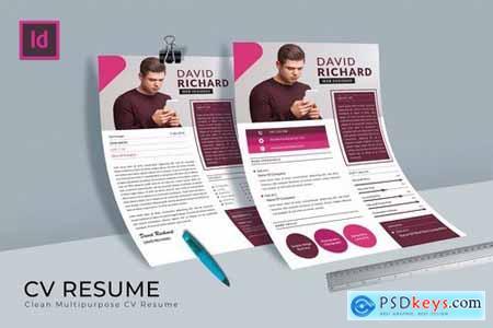 Pro Designer CV Resume