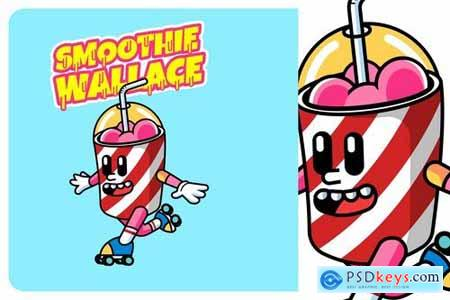 Smoothie Drink - Mascot & Esport Logo