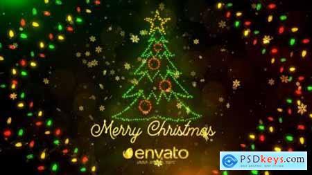 Videohive Colorful Lights Christmas 25198911
