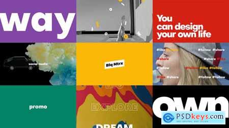 Videohive Bold Typography Titles for Premiere Pro 23822400