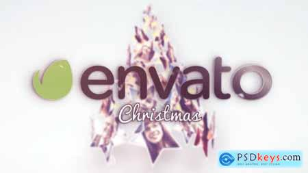 Videohive Christmas Stars Tree Greetings 9503670