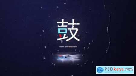 Videohive Multicolored Glitch Logo Reveal 25181789