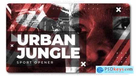 Videohive Urban Sport Opener 25208177