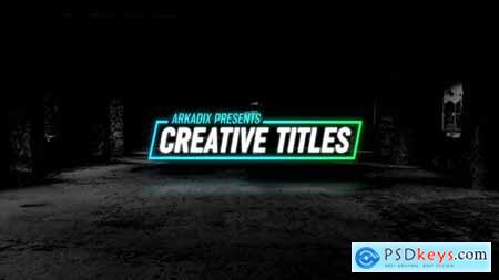 Videohive Creative Titles 4k 24911916