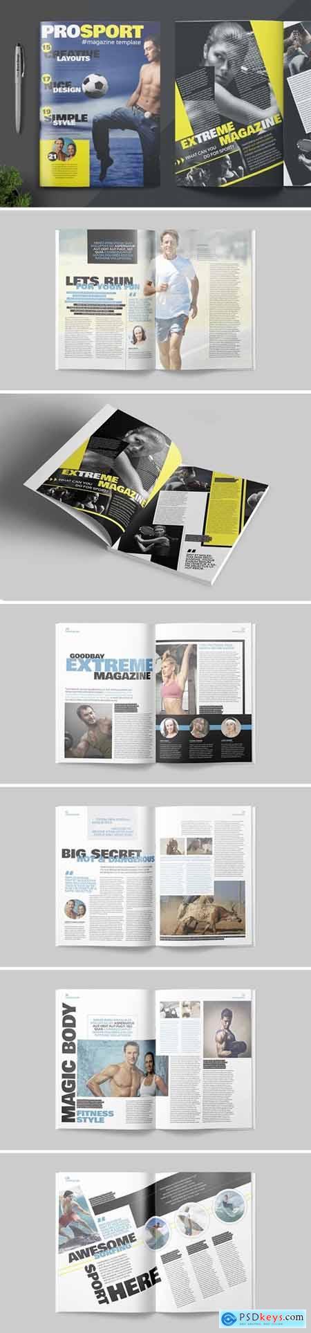 Magazine Template B9G2E5W