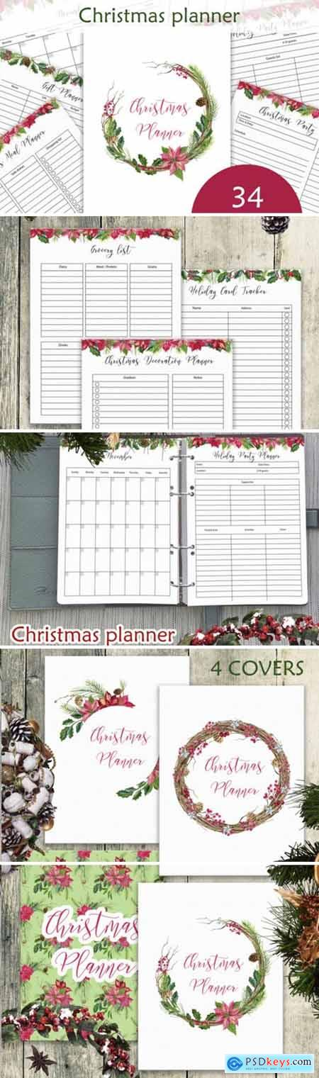 Christmas Planner Letter Size PDF 2178508