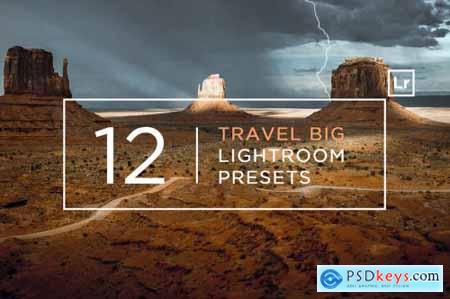 12 Travel BIG Lightroom Presets