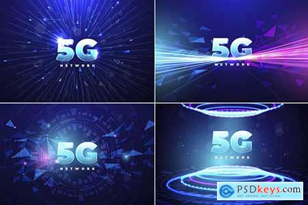 5G Technology Backgrounds