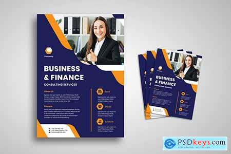 Business And Finance Flyer