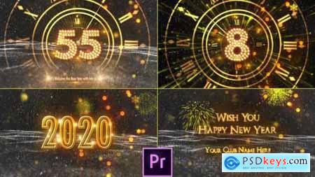 Videohive New Year Countdown 2020 Premiere Pro 25213123