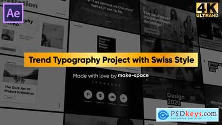 Videohive Swiss Typography Pack 25146535