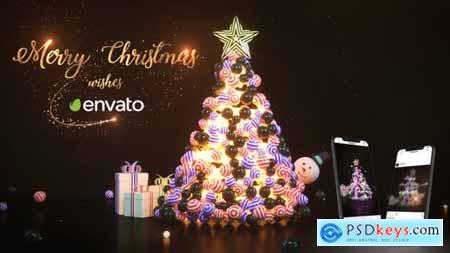 Videohive Christmas and New Year Greetings 25206820