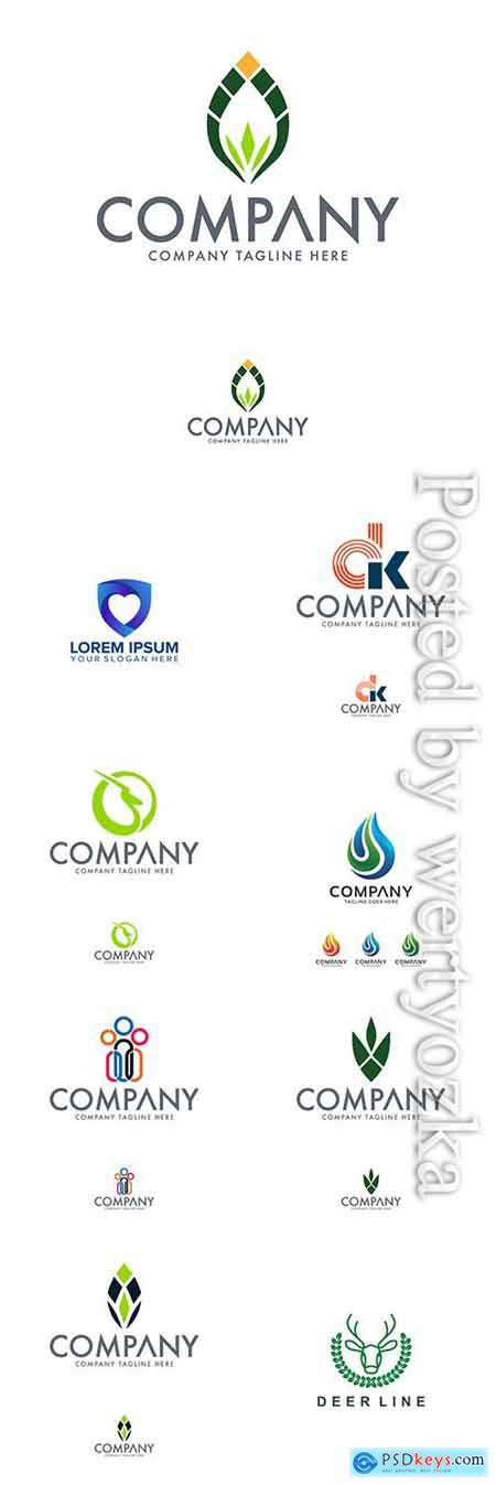 Company logo in vector