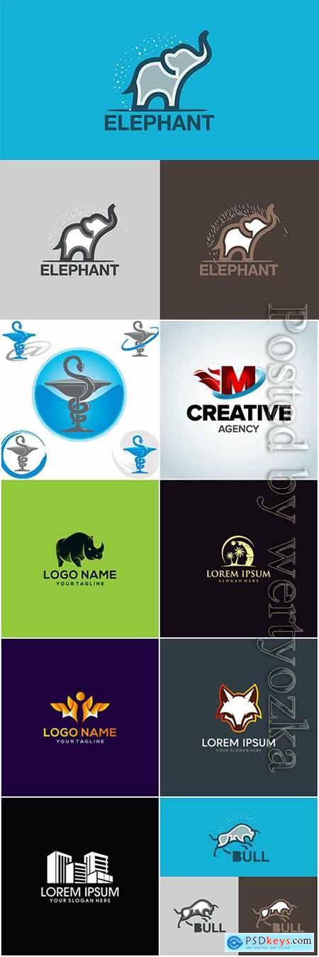 Modern and creative vector logo design