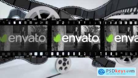 Videohive Film Strip Logo Reveal 22961668