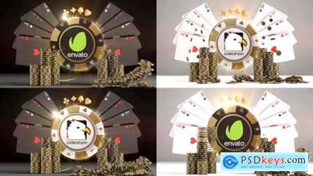 Videohive Poker Night Logo Reveals 22967455