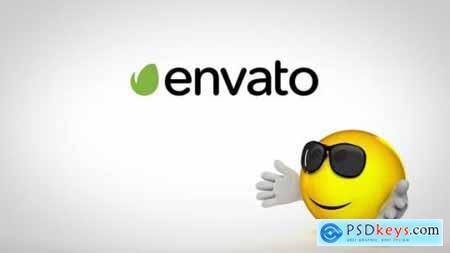 Videohive Funny Emoji Logo Reveal 22989224