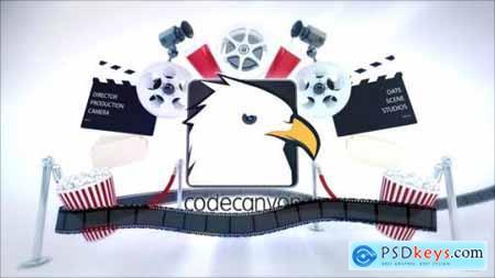 Videohive Cinema Intro Logo Reveal 22966388