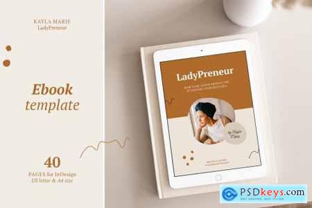 eBook template InDesign Kayla 4331657
