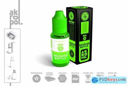 Dropper Bottle MockUp 4325726