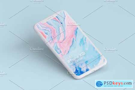 Clay iPhone XS Mockups 4317507
