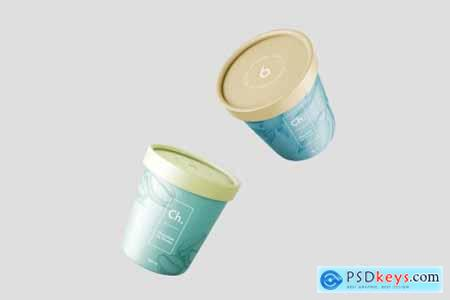 Ice Cream Packaging Mockup Bundle 4297605