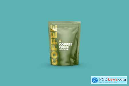 Coffee Stand Up Pouch Zipper 4083900