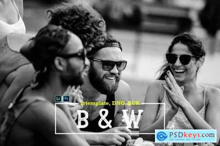 B&W LR Mobile and ACR Presets 4170132