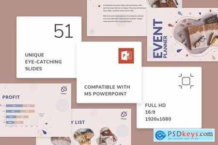 Event Planner PowerPoint Presentation Template