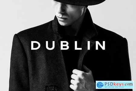 DUBLIN - Display Headline Typeface 4363118