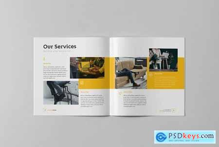 Business Brochure Square