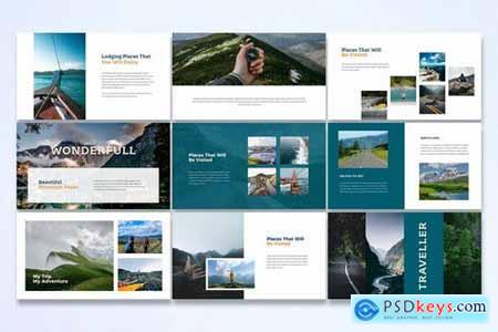 Traveller - Powerpoint Google Slides and Keynote Templates