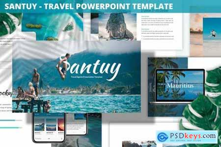 Santuy - Travel Powerpoint Template