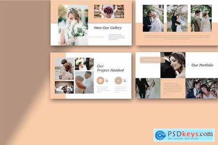 Telasah Wedding Powerpoint Google Slides and Keynote Templates