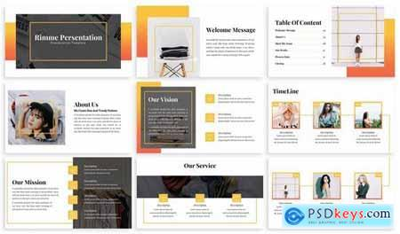 Rimme - Fashion Powerpoint Template