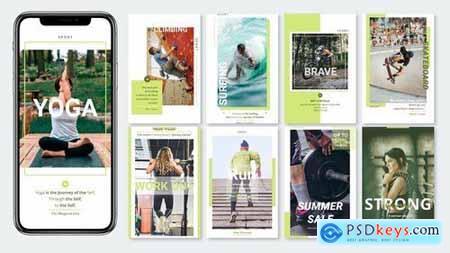 Sportsceent - Instagram Story Pack
