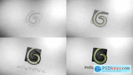 Videohive Sketch Logo Reveal 24671230