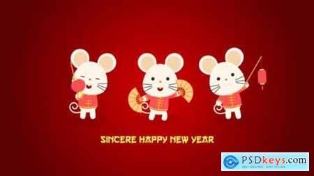 Videohive Chinese New Year Greeting 25185771