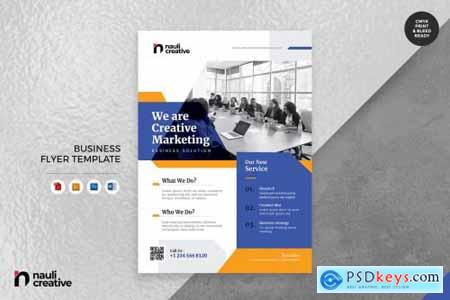 Corporate Business Flyer493