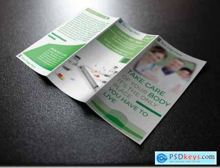 Trifold Brochure for Medical Health