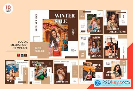 Social Media Kit PSD & AI