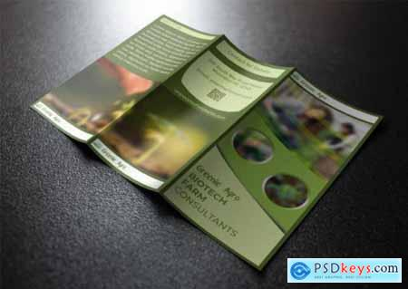 Farming Trifold Brochure Template