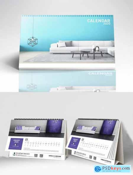 Calendar Concept 2020