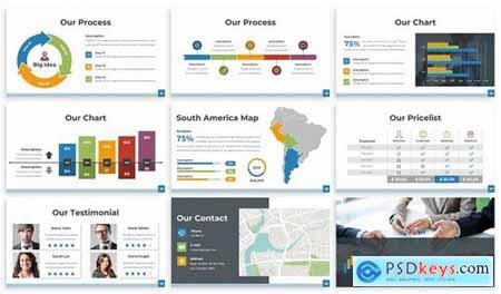Companhia - Business Powerpoint Template